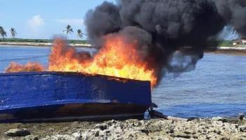 Armada frustra 13 viajes ilegales a Puerto Rico y apresa 116 personas