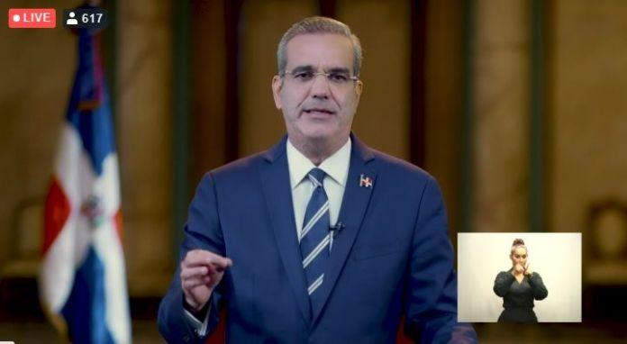 Texto del discurso del Presidente Luis Abinader a la nación este jueves 8 oct.