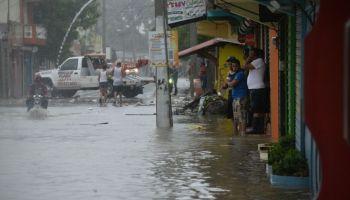 Las lluvias continuaran este viernes sobre el territorio nacional . fuente externa.