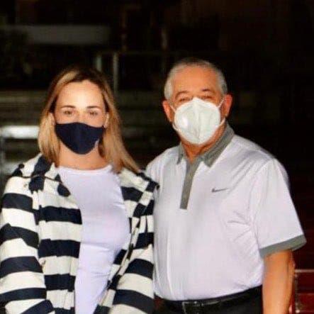 Roberto Salcedo y una hija dan positivo COVID-19