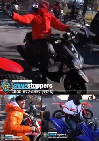 Detectives Alto Manhattan persiguen gatilleros dispararon a conductor hispano