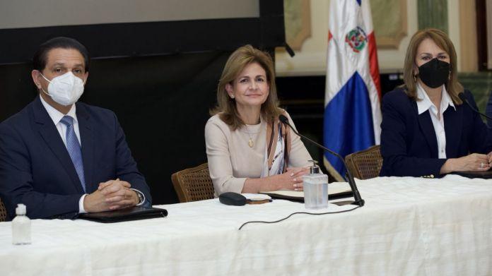 Vicepresidenta Raquel Peña anuncia avances del Plan Nacional Vacúnate RD