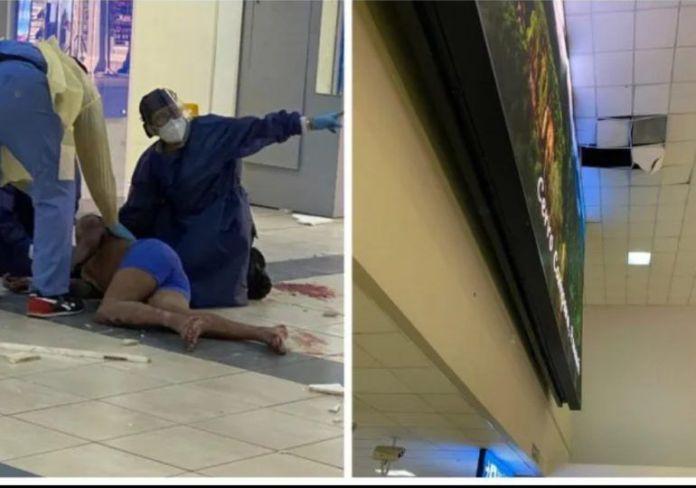 Dominicano cae del techo del Aeropuerto de Tocumen al intentar evadir controles de seguridad