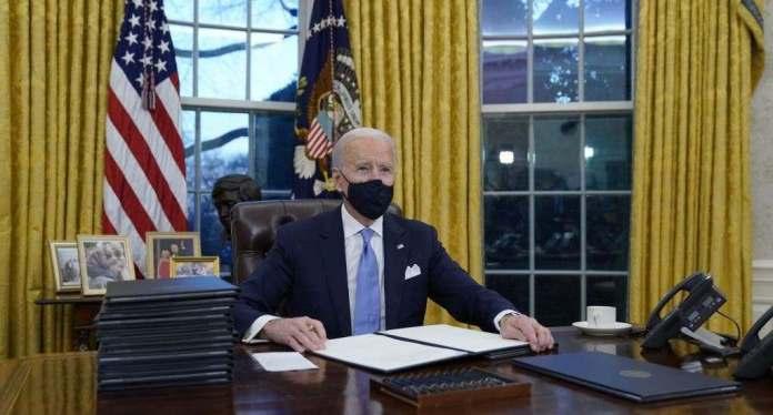 Presidente Biden advierte a las gasolineras no subir los precios tras hackeo. FUENTE EXTERNA