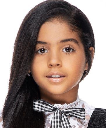Niña dominicana llega a elenco de película en Hollywood