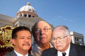 foto de reelecion de candidatos loonel, balaguer, hipolito