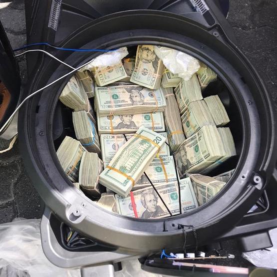 Contrabando de dólares