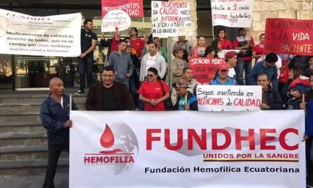 Pacientes con Hemofilia piden medicamentos que son su vida o muerte