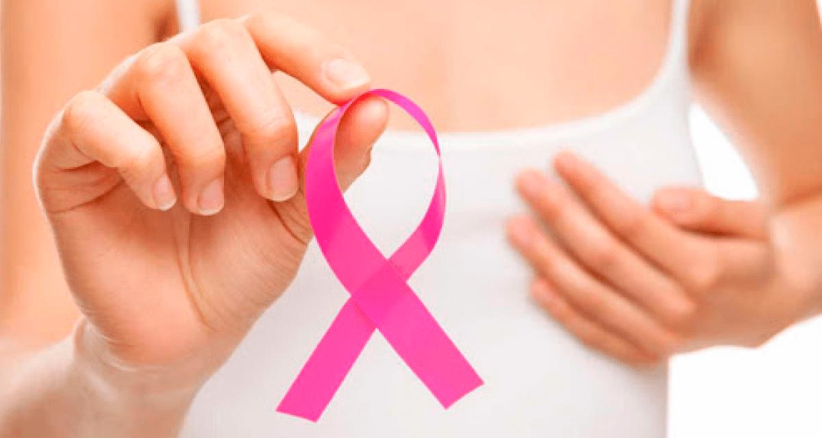 Cáncer de mama; crecimiento descontrolado de las células mamarias.