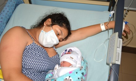 Una niña fue la primera recién nacida del 2021 en el Hospital Teófilo Dávila de Machala