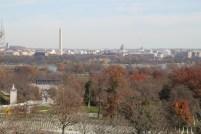 The Mall desde el Cementerio Nacional de Arlington (Virginia)