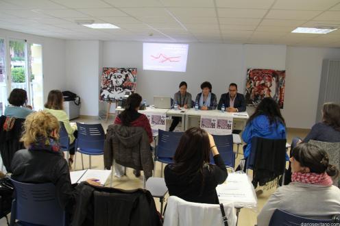 ACTO INAUGURAL PASADAS JORNADAS ARTETERAPIA EN LA HERRADURA 15