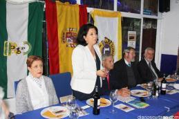 LA CONCEJALA DE SERVICIOS SOCIALES MARIA DEL CARMEN REINOSO DIO LA BIENVENDA AL CLUB LEONES ALMUÑECAR 16