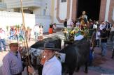 SAN ISIDRO EN LA CARRETA PARA INICIAR ROMERIA A TORRECUEVAS EN ALMUÑECAR 16