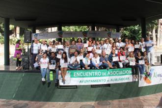 ENTREGA DIPLOMAS ASOCIACIONES PARTICIPANTES ENCUENTRO ALMUÑECAR 2016