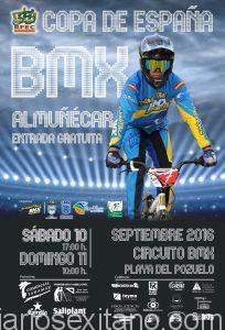 FINAL COPA ESPAÑA BMX EN ALMUÑECAR DIAS 10 Y 11 SEPTIEMBRE 2016