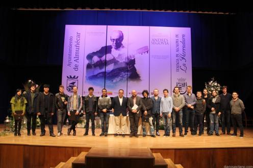 PRESENTACION GUITARRISTAS PARTICIPANTES CERTAMEN ANDRES SEGOVIA 17