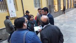 ALCALDESA ALMUÑECAR ENTREGA EN GRANADA INFORME TURISTICO AL CONSEJERO DE TURISMO 17