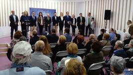 ALCALDESA DURANTE EL ACTO INAUGURAL ESCUELA MUSICA ALMUÑECAR JUNTO EQUIPO GOBIERNO 17