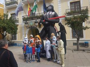 STAR WARS PARA ANIMAR EL CENTRO COMERCIAL SEXITANO 17 (4)