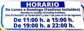 HORARIOS ZONA AZUL ALMUÑECAR LA HERRADURA 17