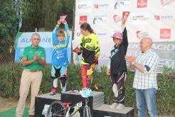 ANA VALDERRAMA BARBERO SEGUNDA EN QUINTA RONDA COPA BMX EN ALMUÑECAR 17