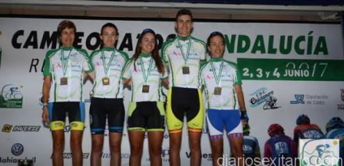 CARLOS RODRIGUEZ CANO CAMPEON ANDALUCIA DE CICLISMO 17