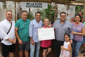 GASTROBAR DE LA FLOR GANA EL CONCURSO DE TAPAS FERIA GASTRONOMICA ALMUÑECAR 17