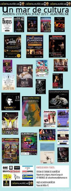 AGENDA CULTURAL CARTELES JULIO 17