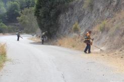 LIMPIEZA ACCESO A PUNTA DE LA MONA Y COTOBRO 17