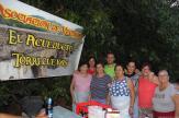 VECINAS PARA LOS BUÑUELOS CON EL PRESIDENTE VECINAL 17