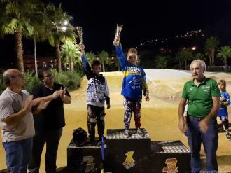 ALVARO VALDERRRAMA BARBERO EN LO MÁS ALTO DEL PODIO BMX COPA 17