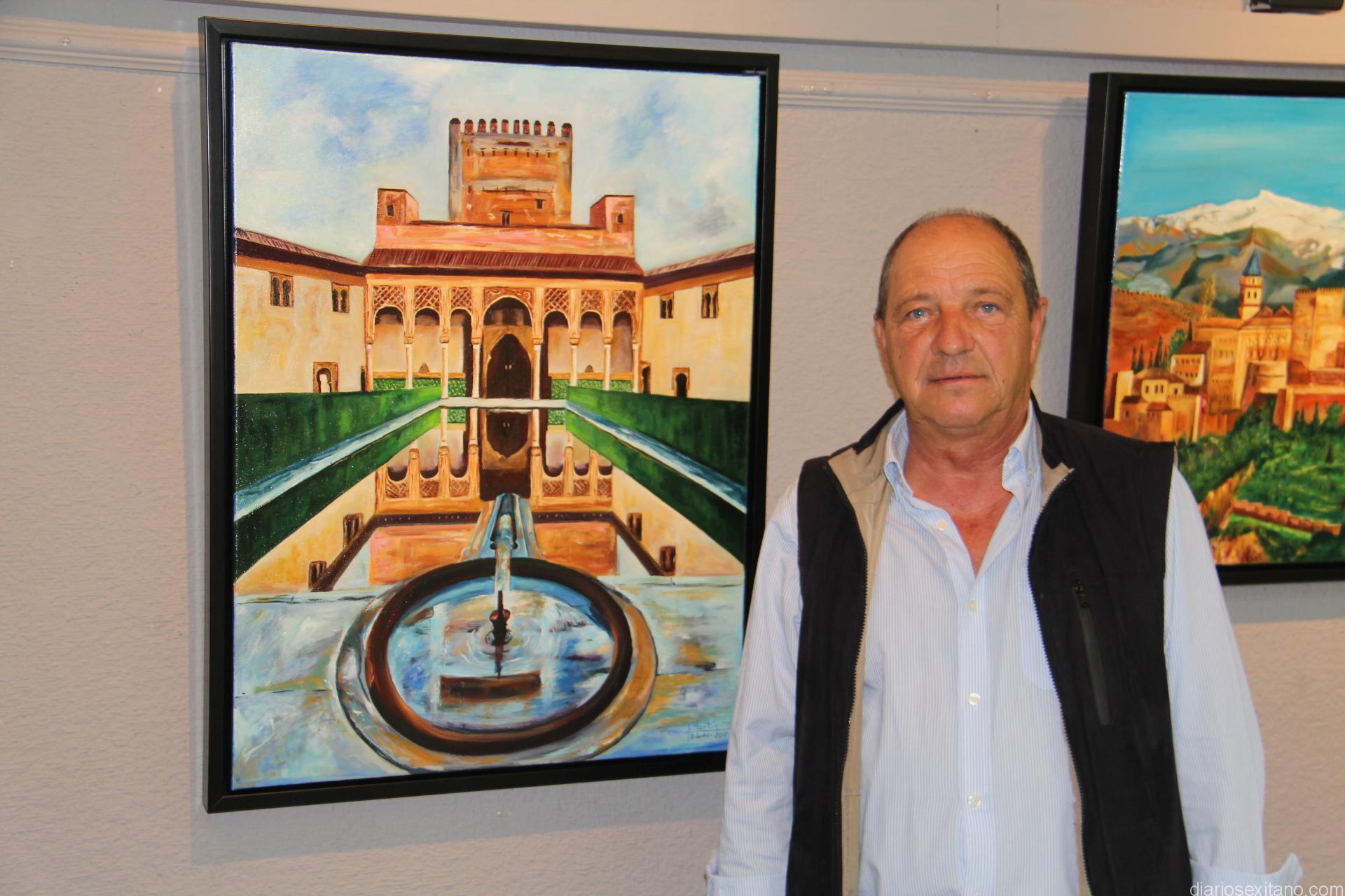 Jose Martin Vílchez juno a algunas de sus obras 17