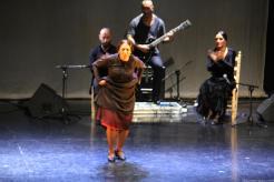 La bailaora Fuensanta La Moneta durante su actuación en Almuñécar 17 2