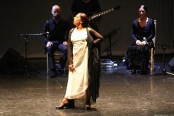 La bailaora Fuensanta La Moneta durante su actuación en Almuñécar 17