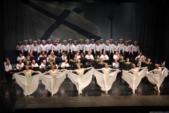 ACTUACION CORO BALLET Y MUSICA EJERCITO RUSO EN ALMUÑÉCAR 18