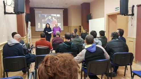 LA EDIL DE SALUD Y BIENESTAR SOCIAL CLAUSURO CURSO EN CENTRO JUVENTUD MOMENTO CLAUSURA ALMUÑECAR 18