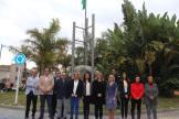 ALCALDESA DE ALMUÑECAR Y CORPORATIVOS PARTICIPANTES EN EL ACTO IZADA BANDERA ANDALUZA 18