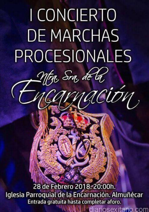 CONCIERTO DE MARCHAS PROCESIONALES EN LA IGLESIA DE LA ENCARNACIÓN ALMUÑECAR 18