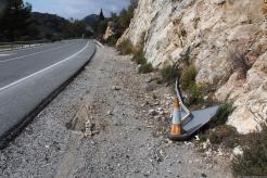 Lugar del accidente de tráfico en CN 340 Cerro Gordo 18