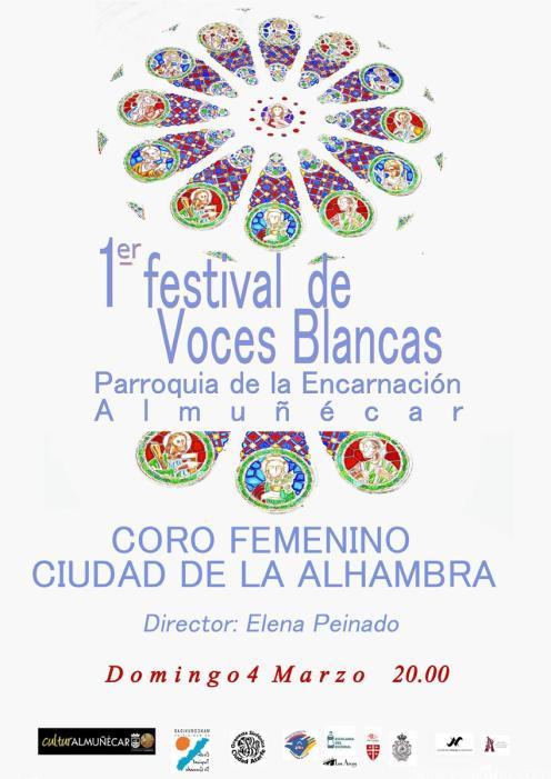 FESTIVAL VOCES BLANCAS CORO CIUDAD DE ALHAMBRA 4 marzo 18