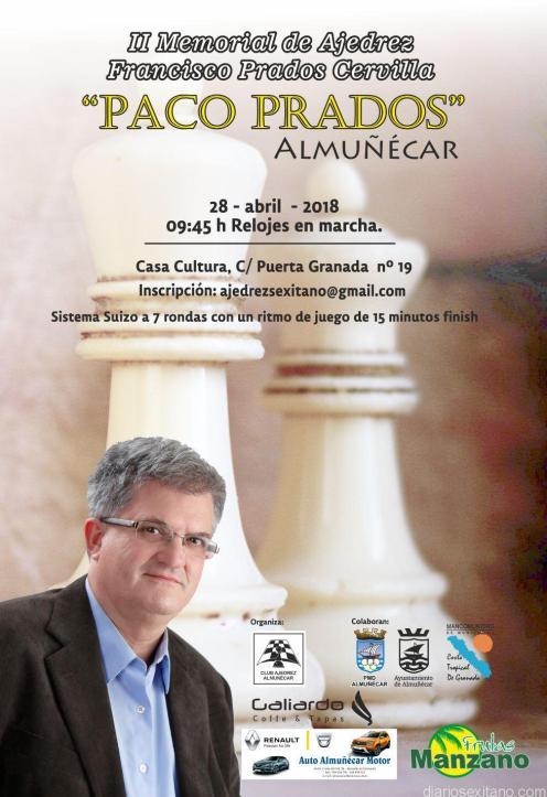 TORNEO AJEDREZ PACO PRADOS ALMUÑECAR 18 2