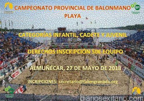 CAMPEONATO PROVINCIAL BALONMANO PLAYA EN ALMUÑECAR 18