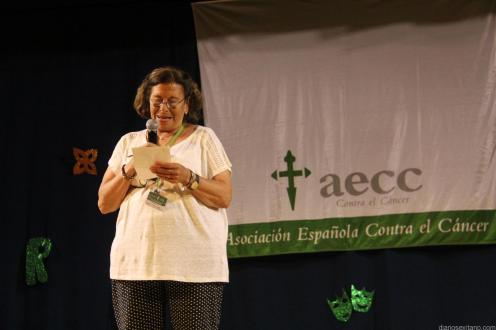 MARIA JARA AGRADECIO LA ASISTENCIA Y PARTICIPACIÓN EN NOMBRE DE AECC 18