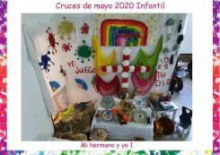 CRUCES DE MAYO INFANTIL PREMIO MI HERMANO Y YO