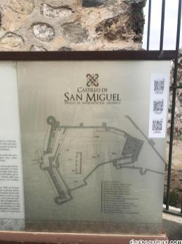 HITO IFORMATIVO CASTILLO SAN MIGUEL ALMUÑECAR CON SEÑALIZACION QR 21