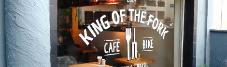 King of the Fork - café, bike e cervejas especiais