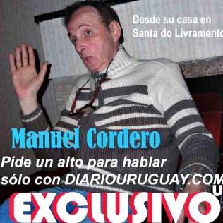 Manuel Cordero con Diario Uruguay