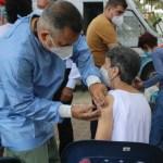 Alcalde Rangel Ávalos habilitó línea de solicitud de vacuna contra el Covid-19