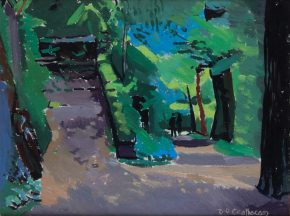 oil painting, diarmuid o ceallachain, ucc,cork,ireland